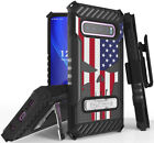 Rugged Case + Belt Clip Combo for Samsung Galaxy S10 Plus - Patriotic Series