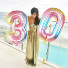 Kyпить Favors Baby Shower Gradient Color Inflatable Toys Helium Number Foil Balloon на еВаy.соm