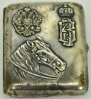 Imperial Russian Faberge silver cigarette case belonged to Grand Duke Vladimir for sale  Shipping to United States