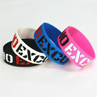No Excuses Motivation Silicone Wristband Rubber Bracelets & Bangles Used In New