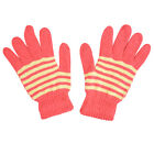 Comfortable Gloves Women's Magic Knit Adult Warm Striped Gloves Great Colors