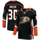 Ryan Miller Anaheim Ducks Fanatics Branded Womens Breakaway Jersey Black