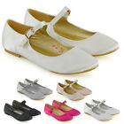 Womens Bridal Satin Shoes Buckle Strap Ladies Party Prom Classic Pumps Size