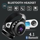 Wireless Over-Ear Headphones with Noise Cancelling Bluetooth Stereo Earphones UK