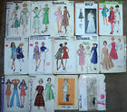 "1950's-70's New York Butterick Sewing Patterns Womens sz 13 35"" Bust You Choose"
