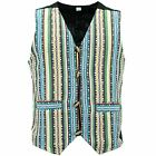 Waistcoat Vest Mens Cotton Canvas Hippie Boho Suit Men Ladies