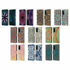 OFFICIAL AIMEE STEWART MANDALA LEATHER BOOK WALLET CASE COVER FOR HUAWEI PHONES
