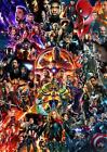 Avengers End Game Movie Poster 22 Marvel Cinematic Universe COLLAGE Art Print
