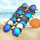 2019 Vintage Men Women Steampunk Round Sunglasses Driving Mirrored Lens Glasses