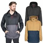Trespass Gusty Mens Packaway Waterproof Jacket Rain Coat With Hood