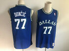 NWT Dallas Mavericks Luka Doncic 77 blue mens jersey S 2XL