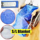 Waterproof Wheelchair Leg Lower Body Cosy Warmer Pad Cover Blanket With Straps