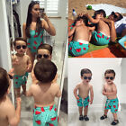 Внешний вид - Family Matching Women Kid Baby Boys Shorts Trunks Swimwear Swimsuit Bathing Suit