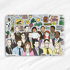 The Office TV Show Dunder Mifflin Hard Case For Macbook Air 11 13 Pro 13 15 16