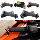 "Motorycle 7/8"" Handle Bar Gel Hand Grips For Street Superbike Scooter 5-Color US"