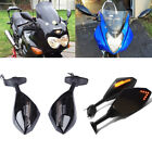 Motorcycle LED Turn Signals Mirrors For Suzuki Bandit 1250s GSX 600F/750F Katana