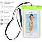 Sport Waterproof Bag Underwater Pouch Dry Fluorescent Case Cover For Cell Phone