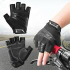 Unisex Summer Motorcycle  Cycling Riding Scooter Half-finger BMX Gloves
