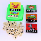 Kid English Spell Alphabet Letter Puzzle Game Child Early Learn Educational Toy