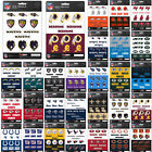 New NFL PICK YOUR TEAMS Die-Cut Premium Vinyl Mini Decal / Sticker Pack on eBay