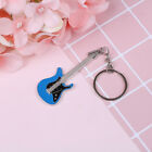 Creative metal electric guitar mini keychain key chain key ring gifts Pip E MECA