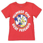 Shirt t Toddler Boys Disney Mickey Mouse Short Sleeve character Tee Clothes nwt