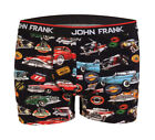 John Frank Underwear Vibe Men's Colorful Retro Cars Boxer Brief by Waveyla