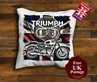 Triumph Cushion Cover, Triumph motorcycle Cushion, Handmade, Unofficial €10.41 EUR on eBay