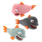 1x,Pet Cats Cute Biting Sound Squeaky Toys Pet Product Plush Dog Chew Toys