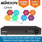 KKmoon 4CH8CH16CH 1080P Hybrid AHD DVR 5-in-1 Digital Video Recorder P2P Onvif