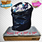 90L REFUSE BAGS SACKS BIN LINERS RUBBISH BAG 140G QUALITY BLACK EXTRA HEAVY DUTY