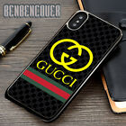 Gucci150 Stripes Cover iPhone 5s 6s 7 8 X XR XS Max Samsung Galaxy S10 Plus Case