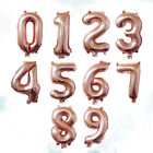 """40"""" INCH gold/ silver Alphabet Letter & Number A-Z Foil Air & Helium Balloons"""