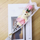 1x Bear Rose Flower Favor Soap Petal Wedding Decoration Party Gift Mother's Day