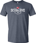 Amphibious Outfitters T-shirt - Scuba Traditions - Heather Navy - D0197HN