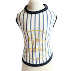 Small Dog T-shirt Puppy Casual Stripe Vest Pet Soft Clothes Apparel For Milk Dog