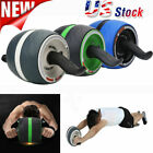 Pro Ab Carver Wheel Abdominal Exercise Roller Workout Core Fitness Home Gym US image