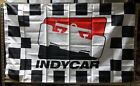 Indianapolis Motor Speedway INDYCAR 3' x 5' Flag Checkered Welcome Race Fans!