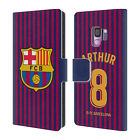 FC BARCELONA 2018/19 PLAYERS HOME KIT GROUP 2 LEATHER BOOK CASE FOR SAMSUNG 1