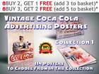 114 Vintage Coca-Cola Advertising Prints / Posters, Collection 1, Size A4 / A3 £3.99  on eBay
