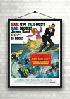 James Bond On Her Majesty's Secret Service Movie Poster Art Print Maxi A1 A2 A3 £12.5 GBP on eBay