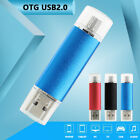 1TB/2TB 2 in 1 Memory Stick OTG USB2.0 Flash Drive Storage Android Smartphone