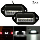 4x Led License Number Plate Lights For Truck Trailer Caravan Lorry Universal New