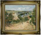 Gauguin Entrance to the Village of Osny 1882 Framed Canvas Print Repro 16x20