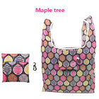 1X Foldable Eco Shopping Bag Tote Pouch Portable Reusable Grocery Storage  CH