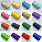 10yards 1mm Waxed Cotton Cord Waxed Thread Cord String Strap Rope Jewelry Making