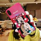 Disney Mickey Minnie Stand Blu-ray Cover Cases for iPhone XR XS Max 6s 7 8 Plus