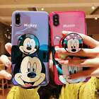 Cute Disney Mickey Minnie Blu-ray Cover Phone Case for iPhone SE2 XR 11 Pro Max