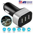 3 Ports USB Car Fast Charger CD Slot Mount Holder Stand For Samsung iPhone XR XS