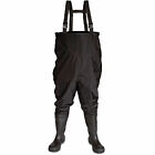 V12 Thames Waders Steel toecap fishing-Industrial flood work